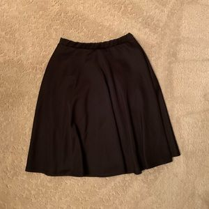 Black Knee-Length Skirt from Urban Outfitters